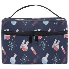 CHTT 抽象パターン 化粧バッグ バスルームポーチ トラベルポーチ 化粧ポーチ 洗面用具 小物入れ 旅行用品 軽量バッグ レディース 旅行バック ポーチ 小物収納袋