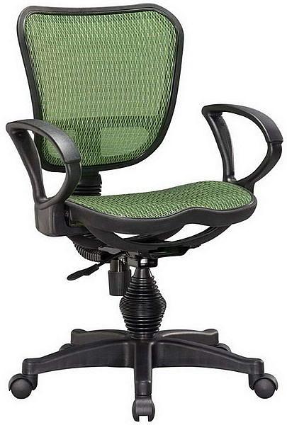 HP368-04 全網椅CS-056/果綠網/氣壓+後仰