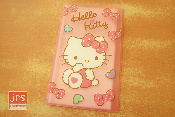 Hello Kitty 凱蒂貓 PP名片本 96入 蝴蝶結 粉 957571