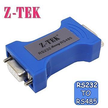 Z-TEK RS232 TO RS485 ADAPTER BLACK 轉換器 (ZY092)