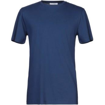 《セール開催中》VERSACE COLLECTION メンズ T シャツ ブルー S コットン 100%