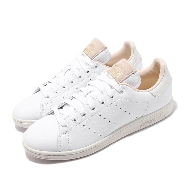 adidas 休閒鞋 Stan Smith 白 米色 男鞋 女鞋 運動鞋 基本款 【ACS】 EF2099
