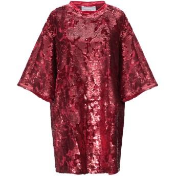 《セール開催中》FORTE DEI MARMI COUTURE レディース ミニワンピース&ドレス レッド XS ポリエステル 97% / ポリウレタン 3%
