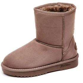 [SENNIAN] マーティンブーツ 厚底 ショート ブーツ レディース ウェッジヒール 靴 スリッポン 履きやすい 歩きやすい コンフォート 裏起毛 カーキ 通勤 24.5cm デート 雪靴 アウトドアシューズ おしゃれ 綿靴 冬用ブーツ