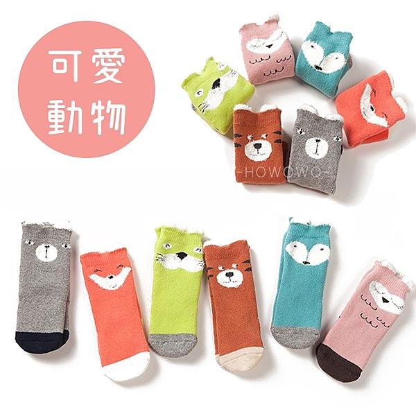 加厚款寶寶襪 立體動物 止滑襪 嬰兒襪 童襪 (0-4歲) CA1197 好娃娃