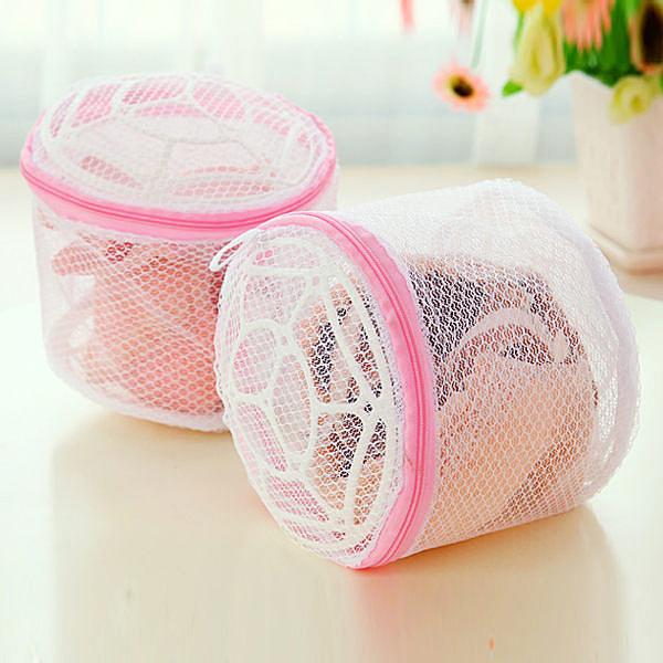 Qmishop 胸罩內衣密網洗衣袋17*14CM【J021】
