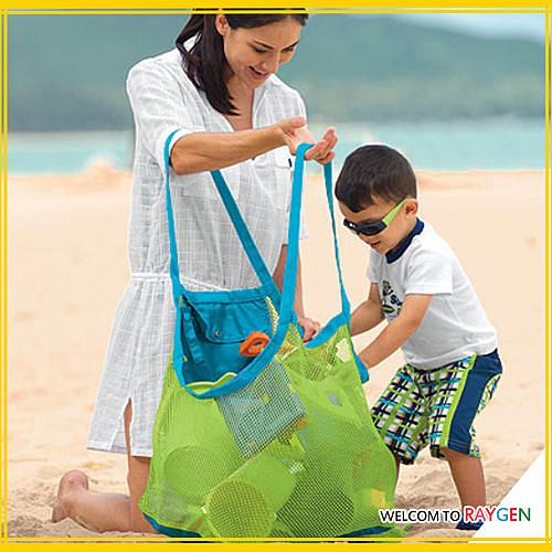 用品 兒童沙灘玩具收納袋 收藏袋 【大尺寸】