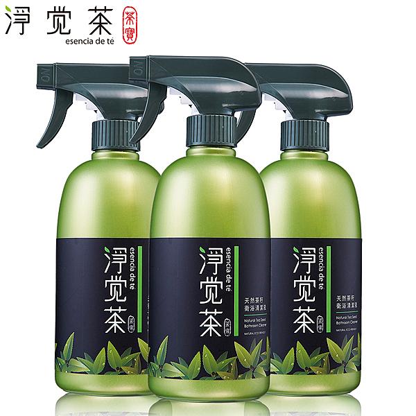 茶寶淨覺茶 天然茶籽衛浴清潔液(3瓶組) 【屈臣氏】
