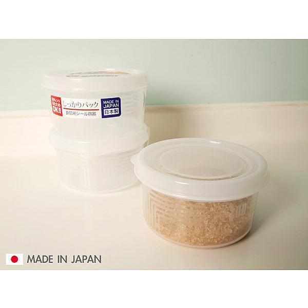 BO雜貨【SV3129】圓型保鮮盒 (180ml*3)便當盒 廚房收納 冰箱冷藏 微波爐 餐廚 保鮮 食物食材K142