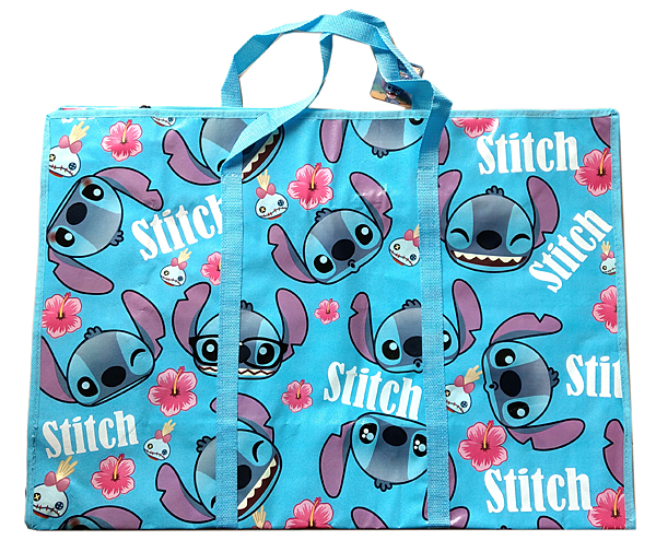 【卡漫城】 史迪奇 批貨袋 橫69 ㊣版 Stitch 星際寶貝 棉被袋 購物袋 收納袋 玩具 衣物 萬用 搬家袋