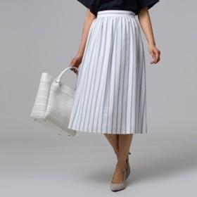 [マルイ]【セール】フレスコストライプ スカート/アンタイトル(UNTITLED)