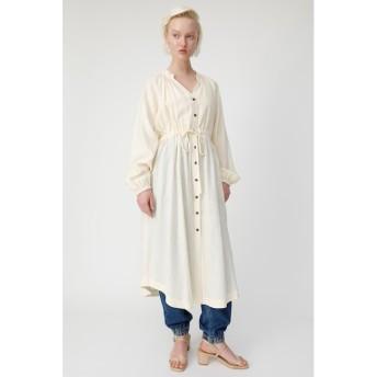 【マウジー/MOUSSY】 LINEN BLEND SHIRT ドレス