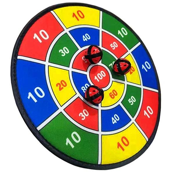 兒童玩具飛鏢盤套裝幼兒園投擲粘靶球