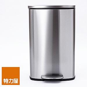 特力屋 派克緩降踏式垃圾桶 50L 不鏽鋼