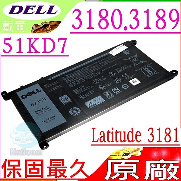 DELL 51KD7 電池(原廠)-戴爾 Latitude Chromebook 11 3180 電池, 3181 電池, 3189 電池,5190 電池,FY8XM,Y07HK