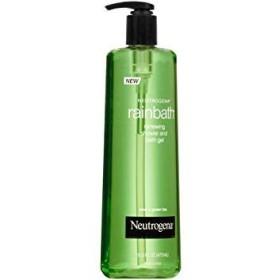 Neutrogena Rainbath梨グリーンティーリニューイングシャワーバスジェル、16液量オンス - ケースあたり12。