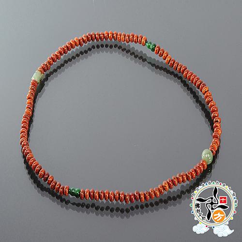 玉葫蘆+星月菩提108念珠6mm 【十方佛教文物】