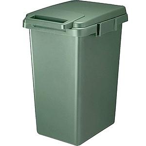 【日本RISU】SABIRO系列連結式環保垃圾桶33L-綠色