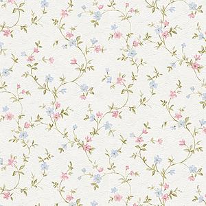 歐NINE壁紙-鄉村花朵 粉紅 85232