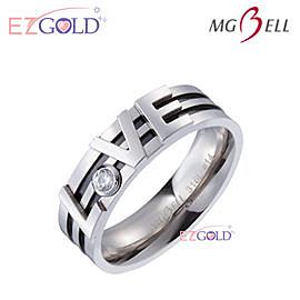 MG-Bell 瑪琦貝爾♥Love♥鋼飾戒指(男)