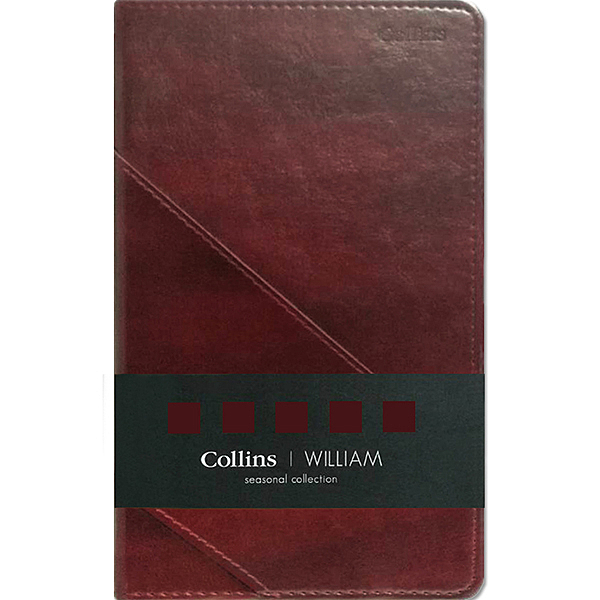 英國Collins Seasonal Winston系列 A5深褐色
