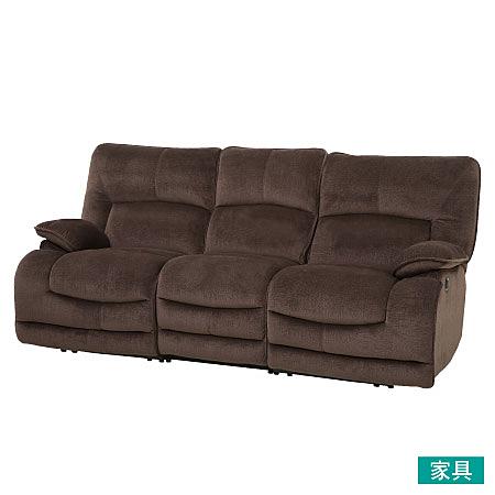 ◎布質3人用電動可躺式沙發 HIT DBR NITORI宜得利家居