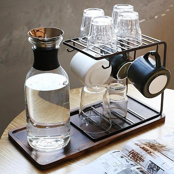 杯子瀝水架家用水杯掛架水杯收納杯架托盤置物架【步行者戶外生活館】