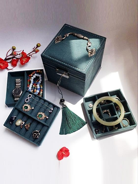 復古首飾盒歐式精致小號飾品盒