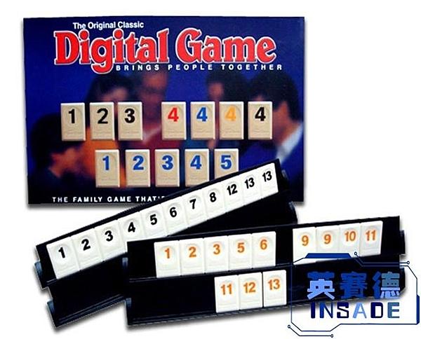 桌游以色列麻將數字麻將牌標準版拉密桌面聚會游戲【英賽德3C數碼館】