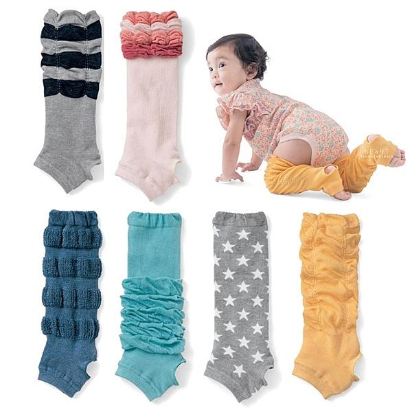 KIDS BASIC 寶寶踩腳爬行護膝襪套 嬰兒襪套 保暖襪套