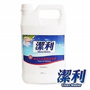 潔利 重油汙超濃縮清潔劑
