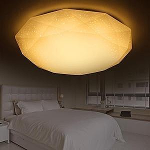 YPHOME 適用2坪24W LED星鑽黃光吸頂燈 2225HY830