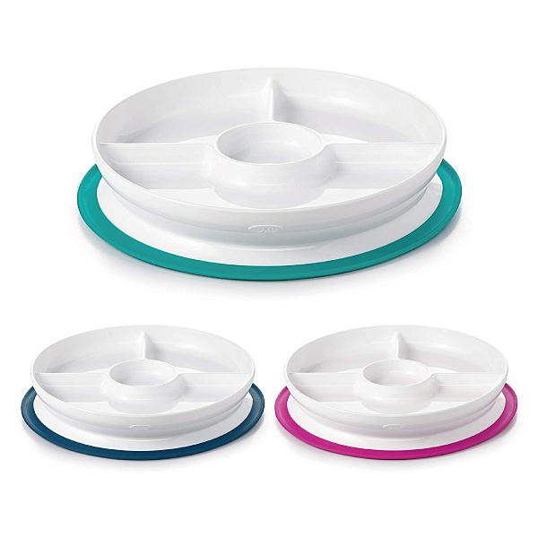 美國 OXO tot 好吸力分隔餐盤 吸盤 餐具 (三款可選)