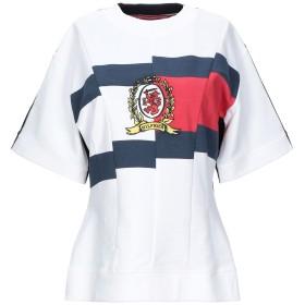 《セール開催中》HILFIGER COLLECTION レディース スウェットシャツ ホワイト XS コットン 100%
