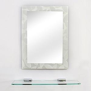 特力屋無銅鏡附平台-60x45cm-輕柔羽葉