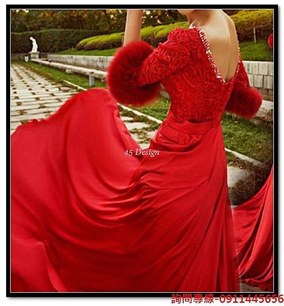 (45 Design) 訂做款式7天到貨 專業訂製款 中大尺碼 定做顏色 長款洋裝 禮服 結婚 喜宴 尾牙 春酒