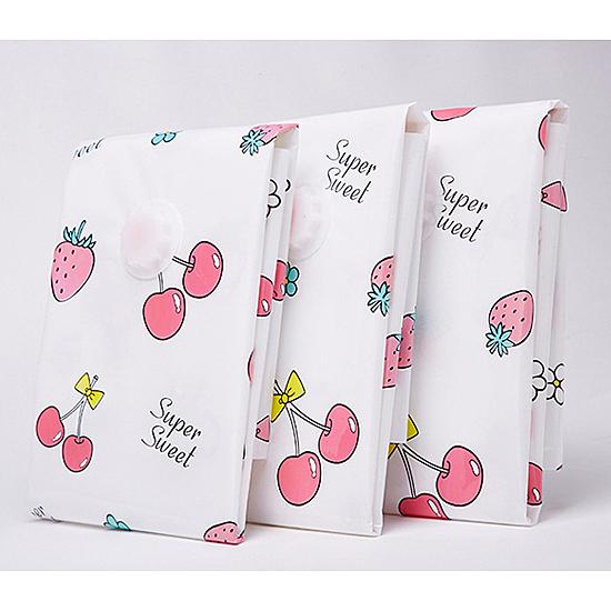 ◄ 生活家精品 ►【Z128】單入真空壓縮袋(大號70x90cm)印花  衣物 旅行 收納袋 打包