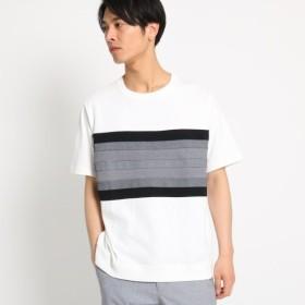 [マルイ]【セール】テクニカルボーダーTシャツ/ザ ショップ ティーケー(メンズ)(THE SHOP TK Mens)