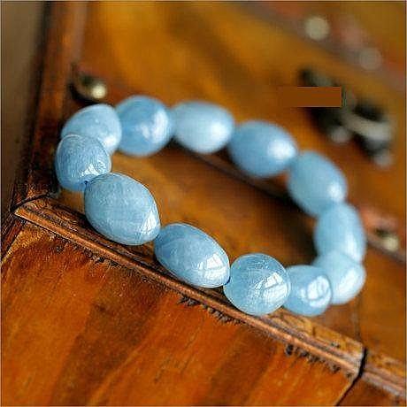 海藍寶手鏈 深海藍 小清新冰激淩糖果色