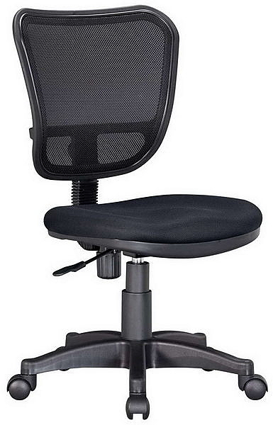 HP370-12 網背椅JS-06/三明治布+黑網布