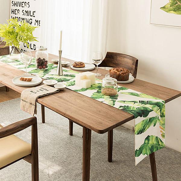 時尚可愛空間餐桌布 茶几布 隔熱墊 鍋墊 杯墊 餐桌巾桌旗 433 (30*220cm)