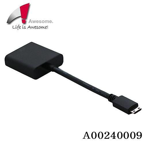 【終身保固】AWESOME HDMI TO VGA C-TYPE 轉接器