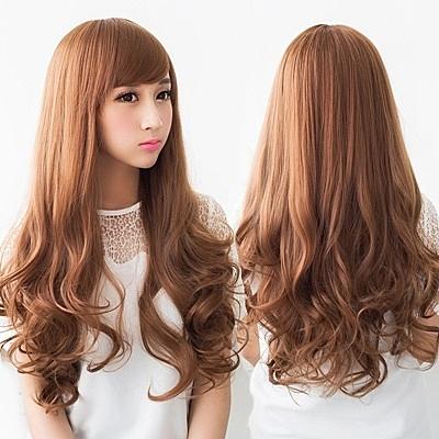 長假髮(整頂)-大波浪長捲髮蓬鬆自然女假髮8款73rr1[巴黎精品]