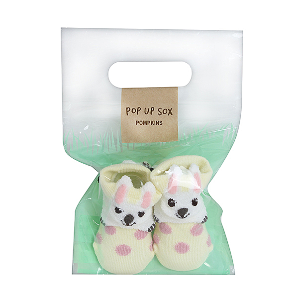 AKACHAN阿卡將 小兔新生兒玩偶襪