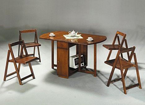 [家事達] TMT 折疊實木收納桌TAR711(椅另購) 特價~
