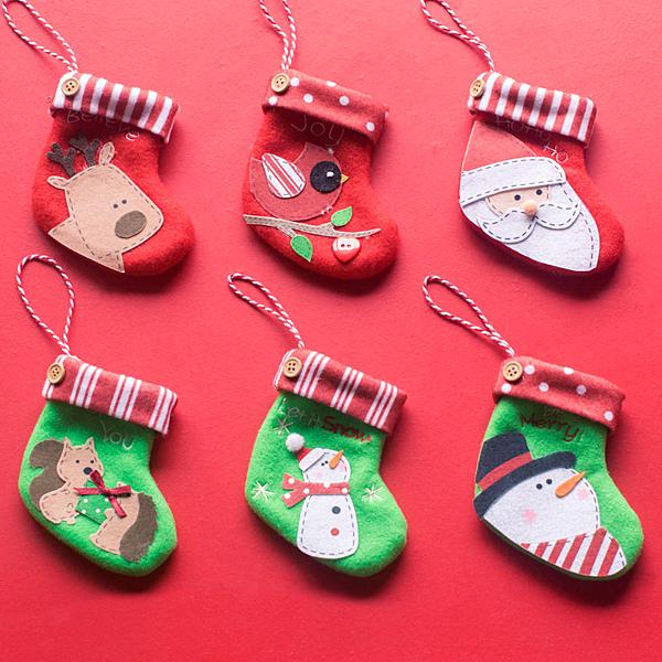 聖誕禮品4 聖誕樹裝飾品 禮品派對 裝飾 (六入)
