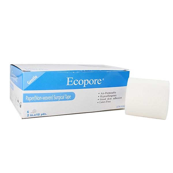 【醫康生活家】Ecopore透氣膠帶 白色 2吋 5cmx9.2m (6入/盒)