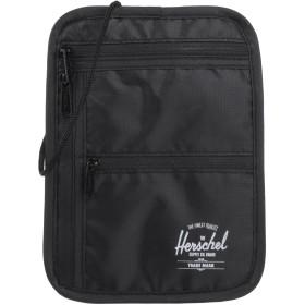 《セール開催中》HERSCHEL SUPPLY CO. メンズ メッセンジャーバッグ ブラック ポリエステル 100%