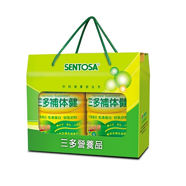 三多補体健,新配方麩醯胺酸添加禮盒組(750g/罐,2罐) – 三多士