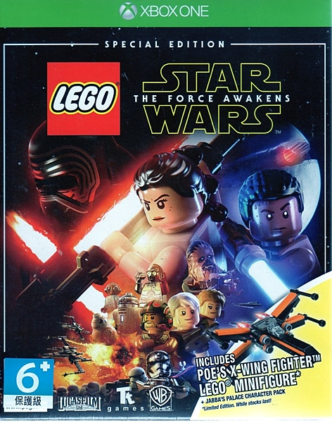 【玩樂小熊】現貨中 XBOXONE遊戲 限定特別版 樂高星際大戰 原力覺醒 LEGO Star Wars 英文版